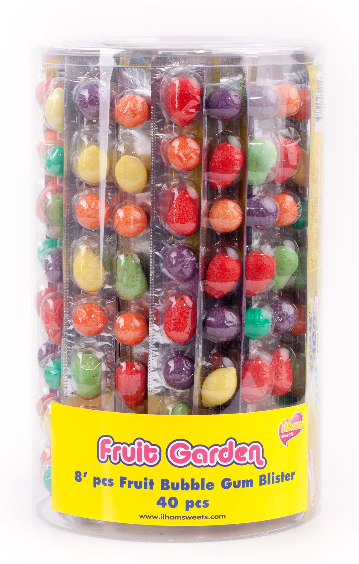 8 pcs FRUIT BLISTER PACK