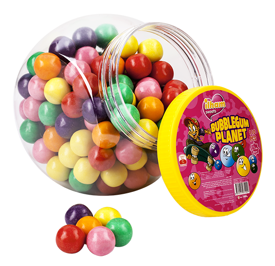 ASSORTED FRUIT BUBBLE GUM