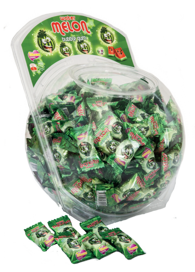 ASSORTED FRUIT SINGLE FLOW PACK IN BIG ROUND JAR