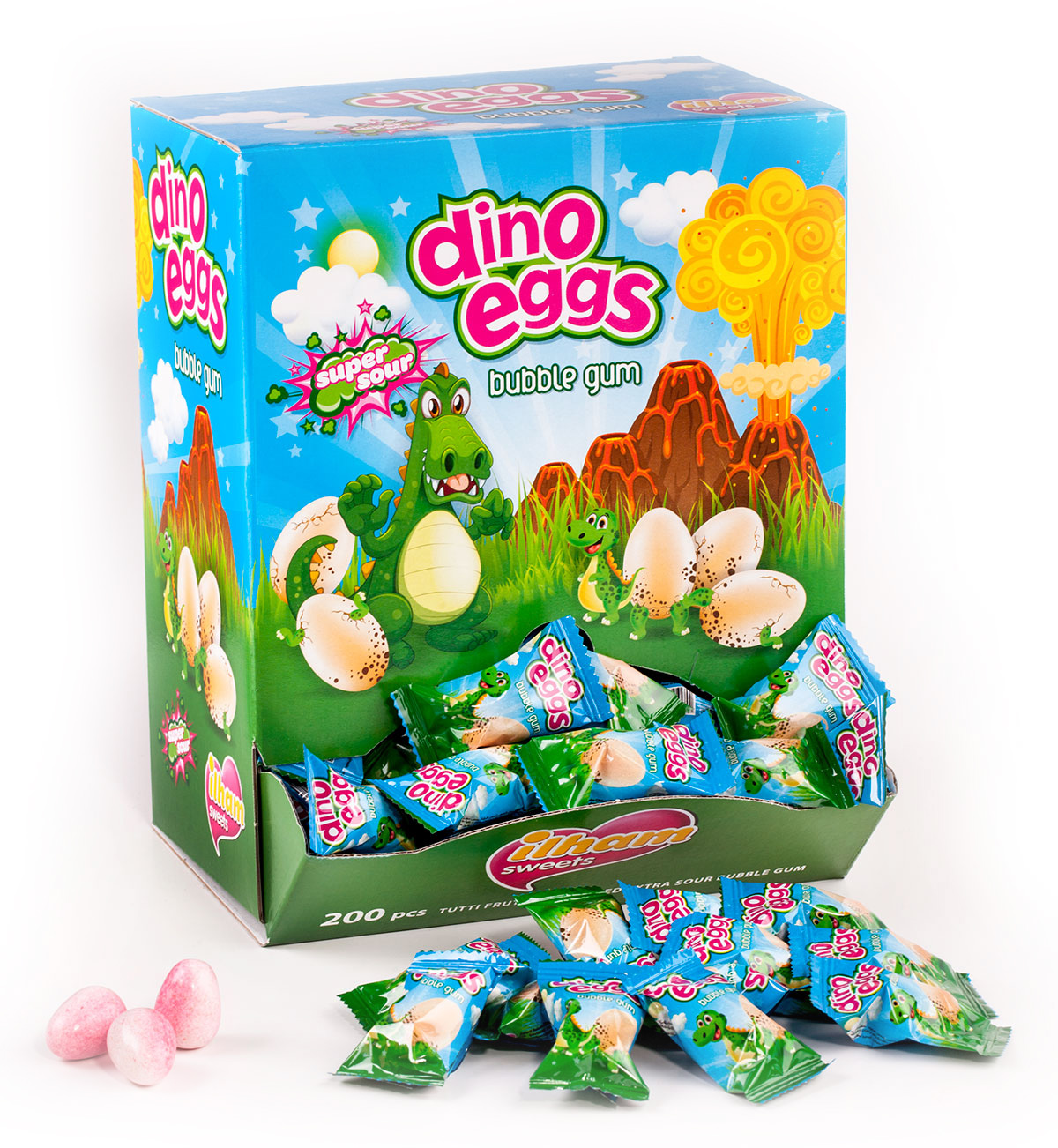 DINO EGGS SINGLE FLOW PACK