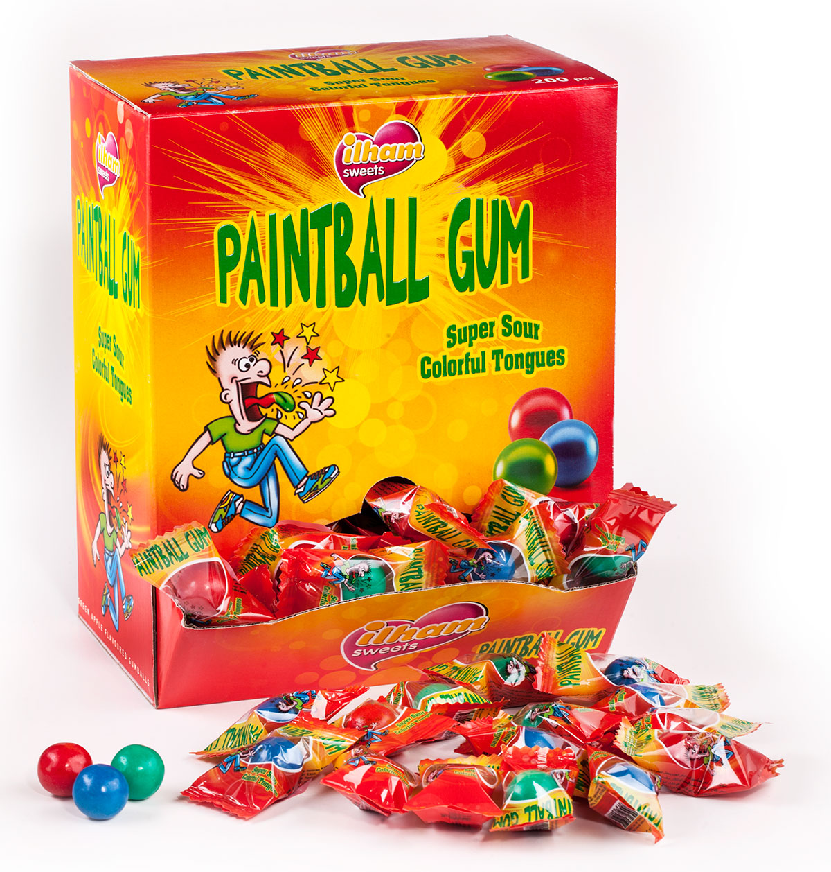 PAINTBALL TONGUE PAINTER SINGLE FLOW PACK