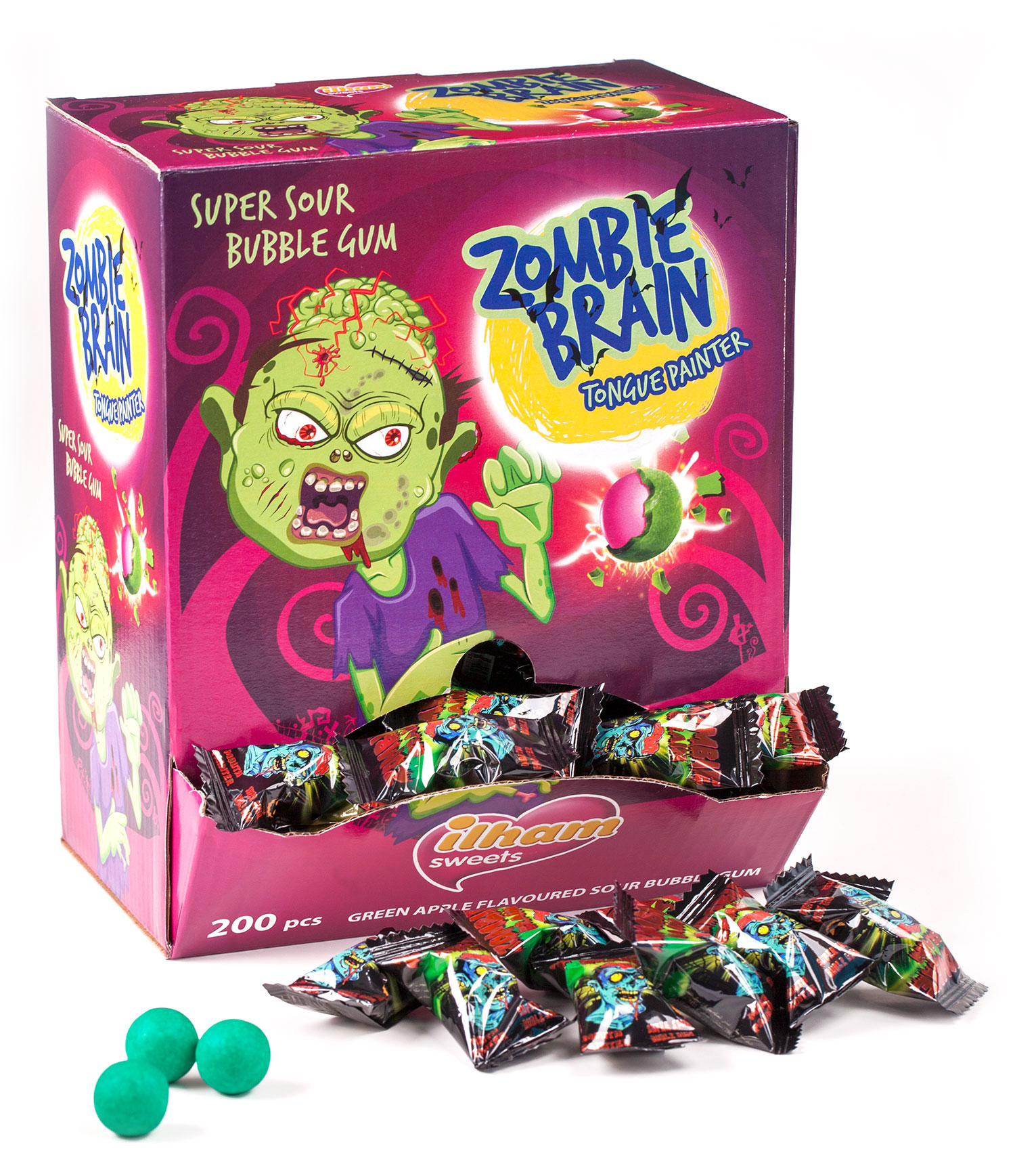 ZOMBIE BRAIN EXTREME SOUR MOUTH PAINTER
